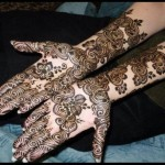 Indian and Pakistani Bridal Mehndi Designs 2014 For Parties (4)
