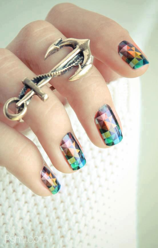 Nail Art Designs Latest Photos 2013 For UK Girls (8)