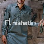 Naqsh By Nishat Linen Winter Stylish Kurta Collection 2013-14 (1)