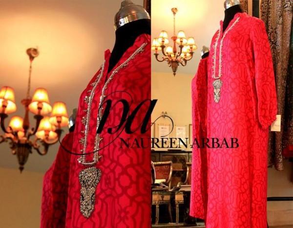 Naureen Arbab Pakistani Formal Dresses Collection 2013-14 For Women - (5)