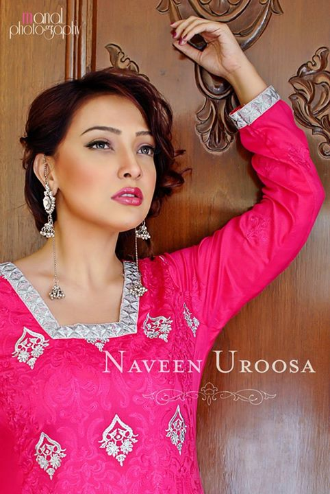 Naveen Uroosa Nice Party Wear Dresses Collection 2013-14 For Women (5)