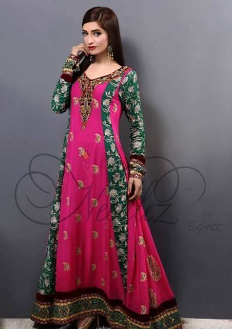 Needlez by Shalimar Winter Dresses 2013-2014 for Women (1)