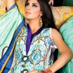 Latest Printed Linen Dresses For Girls By Bashir Ahmad (1)