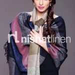 Nishat Textile Latest Shawls Collection 2013-14 For Winter Season (1)