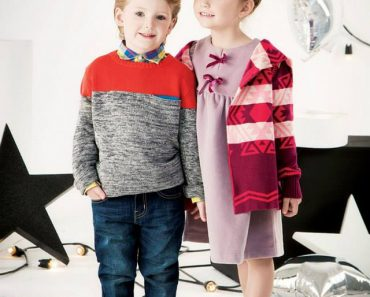 Outfitters Junior Latest Kids Winter Dresses 2013 For Casual Wear (3)