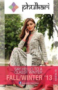 Phulkari By Taana Baana Stylish Winter Collection 2013-2014 For Ladies