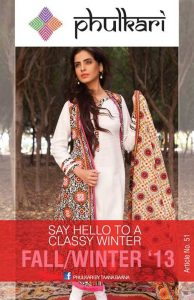 Phulkari By Taana Baana Stylish Winter Collection 2013-2014 For Ladies (1)