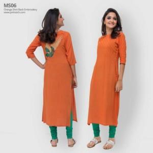 Pinkstich Pakistani Casual Wear Winter Fall Dresses 2013-14 For Women (5)
