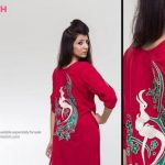 Pinkstich Pakistani Casual Wear Winter Fall Dresses 2013-14 For Women (3)