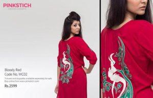 Pinkstich Pakistani Casual Wear Winter Fall Dresses 2013-14 For Women (3)