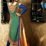 Printed Linen Beautifull Girls Outfits For Winter By Bashir Ahmad (1)