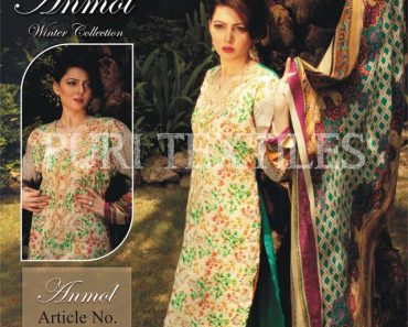Puri Textiles Anmol Winter Collection 2013-14 For Women