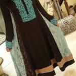 Resham Bazaar Fancy Winter Silk Suits Collection 2013-14 (2)