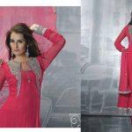 Resham Bazaar Fancy Winter Silk Suits Collection 2013-14 (5)