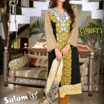 Salam's Textile Winter Collection 2013-14 For Women