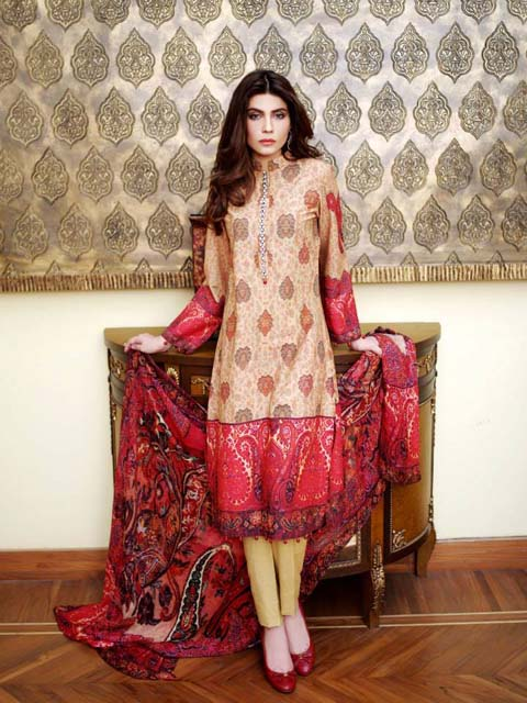Sana Salman Latest Winter Collection 2013-2014 For Part Wear (4)