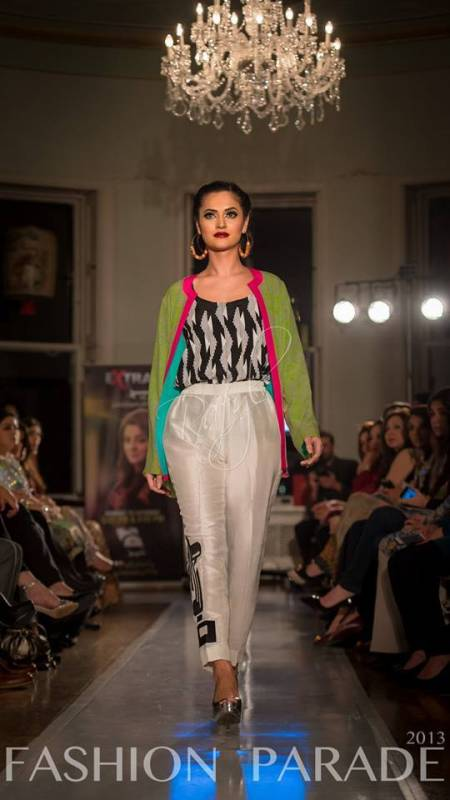 Sania Maskatiya Dresses Of London Fashion Show 2013-14