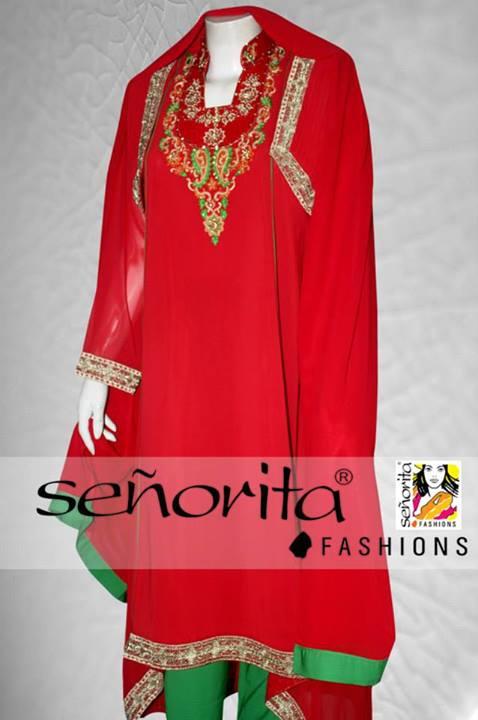 Senorita Fashion Wedding Dresses 2013-14 For Women (4)