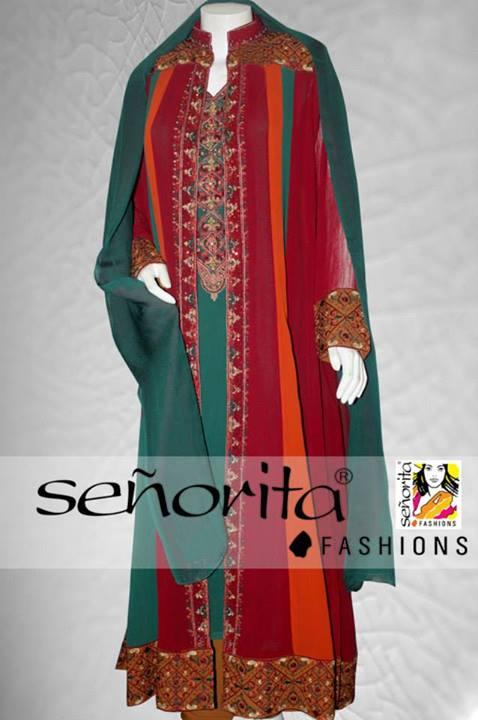 Senorita Fashion Latest Winter Dresses Collection 2013-14 For Ladies (3)