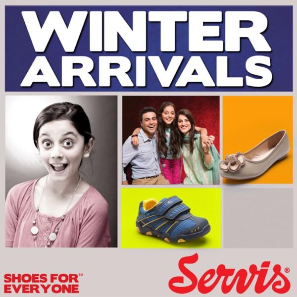 Servis Winter Shoes Collection 2013-2014 For Men & Women