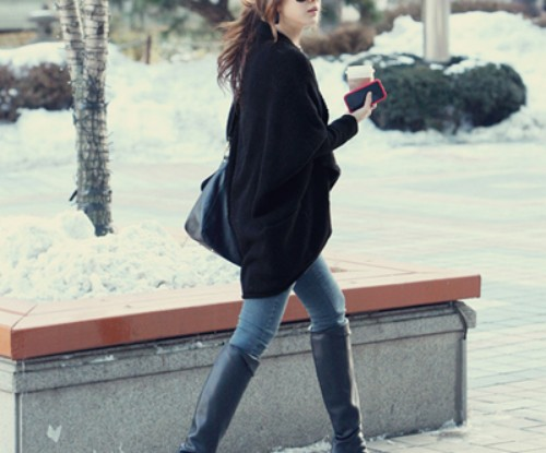 Stylish Winter Fall Sweater Design 2013-14 For Ladies