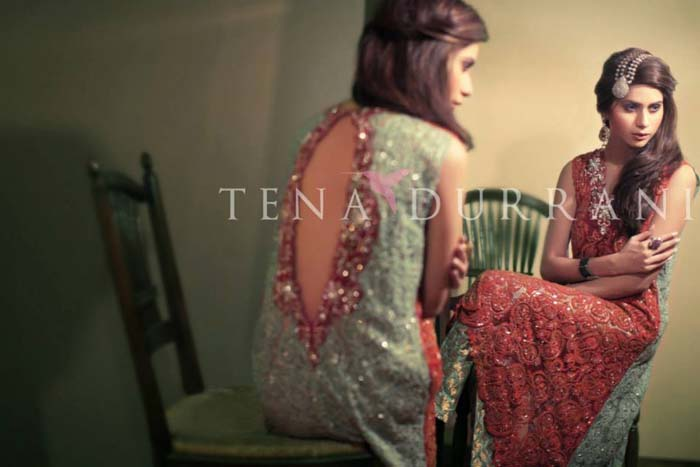 Tena Durrani Wedding Formals Winter Dresses 2013-14 For Ladies (2)