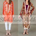Trendy Embroidery Shirts 2013 Winter Collection by Shehrbano Malik