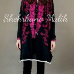 Trendy Embroidery Shirts 2013 Winter Collection by Shehrbano Malik (1)