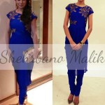 Trendy Embroidery Shirts 2013 Winter Collection by Shehrbano Malik (2)