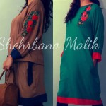 Trendy Embroidery Shirts 2013 Winter Collection by Shehrbano Malik (4)