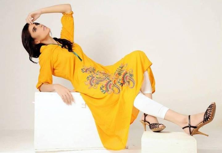 Azleena Faisal Winter Dresses Collection 2013-14 For Women (6)