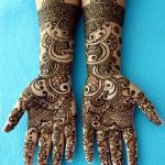 Beautiful Hands Mehndi Henna Designs 2013-2014 For Bridal