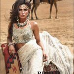 Bridal Wear Desert Rose Collection 2014 Designer Shehla Chatoor