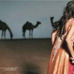 Bridal Wear Desert Rose Collection 2014 Designer Shehla Chatoor (3)