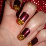 Christmas Nail Art Designs 2013-2014 Collection For Girls (8)