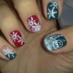 Christmas Nail Art Designs 2013-2014 Collection For Girls