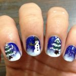 Stylish Christmas Nail Art Designs 2013-2014 Collection For Girls (4)