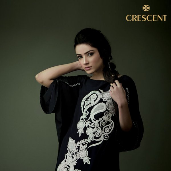 Crescent Stylish Winter Collection Formal Wear 2014 for Ladies (1)