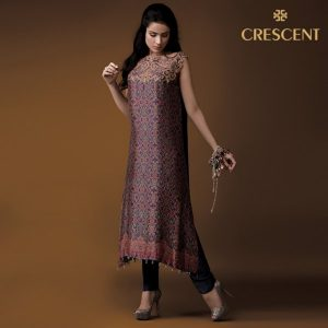 Crescent New Winter Collection Formal Wear 2014 for Ladies (3)