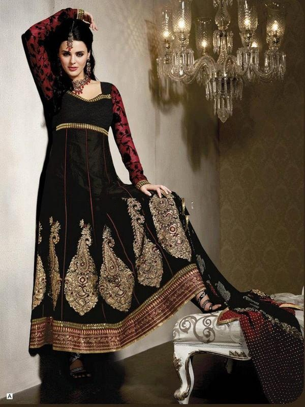 Fashion Of Frocks Designs 2013 For Girls (7)