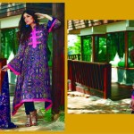 Firdous Fashion Digital Viscose Dresses 2014 For Winter (2)