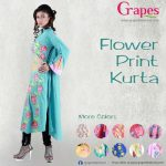 Grapes-The-Brand-flower-prints-kurta-designs-2013-14