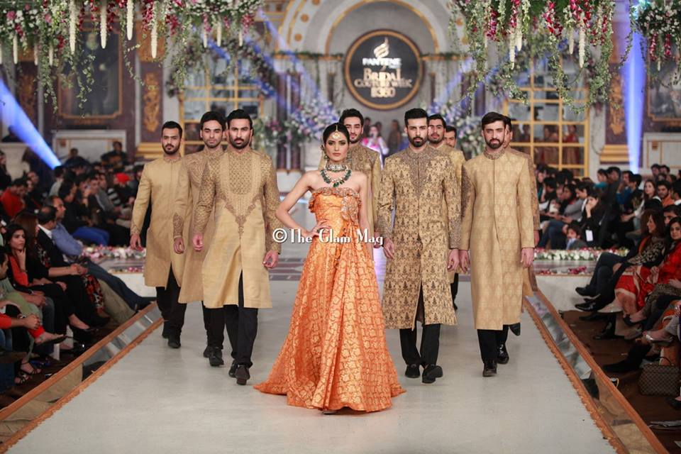 HSY Collection 2014 at Pantene Bridal Couture Week 2013 Lahore - (3)