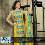 Hareem Latest Embroidered Cotton Range Dresses 2013-14 By ZTM