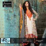 Hareem Latest Embroidered Cotton Range Dresses 2013-14 By ZTM (1)