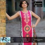 Hareem Latest Embroidered Cotton Range Dresses 2013-14 By ZTM (2)