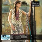Hareem Latest Embroidered Cotton Range Dresses 2013-14 By ZTM (3)
