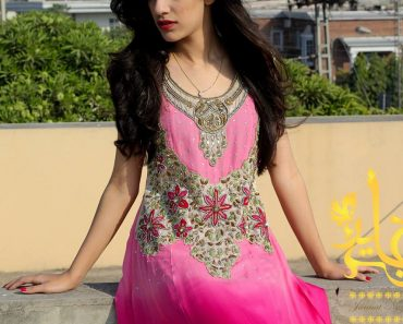 Jannat Nazir New Dresses Collection 2014 2015 For Winter (6)