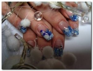 New Christmas Nail Art Designs 2013-2014 Collection For Girls (13)