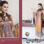 Rashid Digital By Rangoli Fabric Beautiful Linen Collection 2013-14 for Women